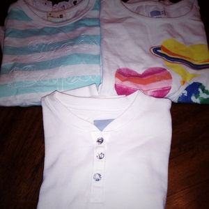 3 sets girls long sleeves  5t